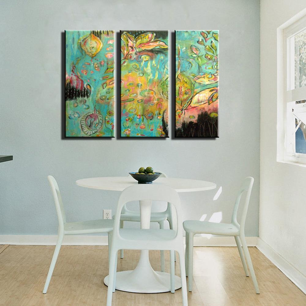Hoge Kwaliteit Green Piece Canvas Art-Koop Goedkope Green Piece ...