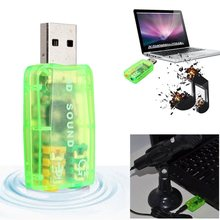 Buy Brand New USB2.0 3D Virtual 7.1 Channel External USB Audio Sound Card Adapter Sound Cards Mac Laptop PC for $1.38 in AliExpress store