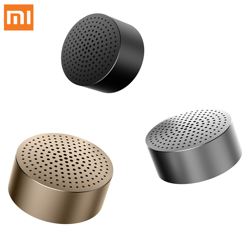 Original Xiaomi Speaker Bluetooth 4.0 Wireless Mini Portable Speaker Stereo Handsfree Music Square Box Mi Speaker Audio Xiaomi(China (Mainland))
