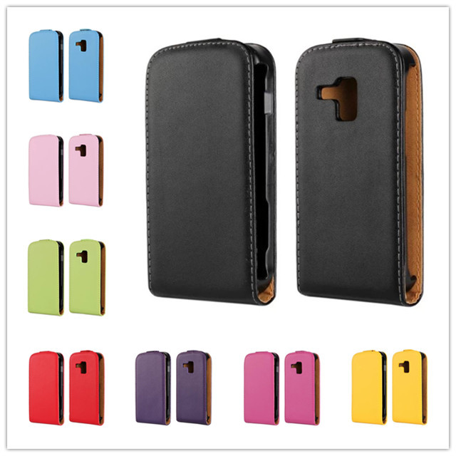 For Samsung Galaxy Trend / S Duos S7562 S7560 Trend Plus S7582 S7580 design Magnetic Holster Flip Leather Hard Case Cover B238-A(China (Mainland))