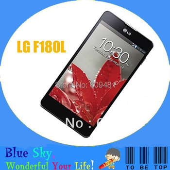 LG Optimus G F180L E970 unlocked original cell phone 2G RAM+ 32G ROM 13.0MP camera GPS WIFI 3G Android phone