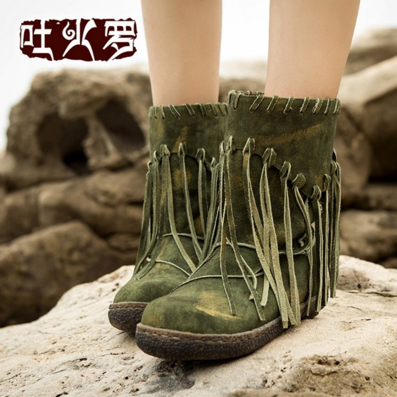 Brilliant Sexy Gladration Women Boots Unique Design Thick High Heels Ankle Boots