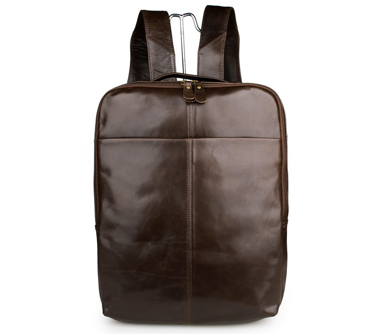 Real Genuine Leather Vintage Backpack Men School Male Daily Backpack Coffee / Gray Fashion Leisure Men's Travel Bags VP-J7280(China (Mainland))