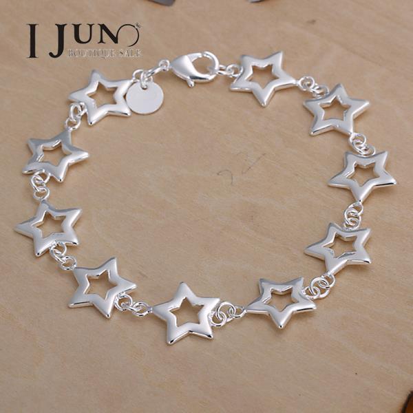 Pulseiras Femininas Pulseira Bracelets For Bracelets For Fashion Popular Ten Star Bracelet Christmas Gift Jewelry Free Shipping(China (Mainland))