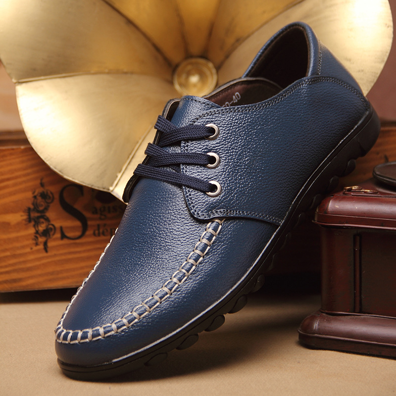 2015 new wholesale Wenzhou englon casual shoes leather shoes head layer leather leather shoes men shoes casual<br><br>Aliexpress