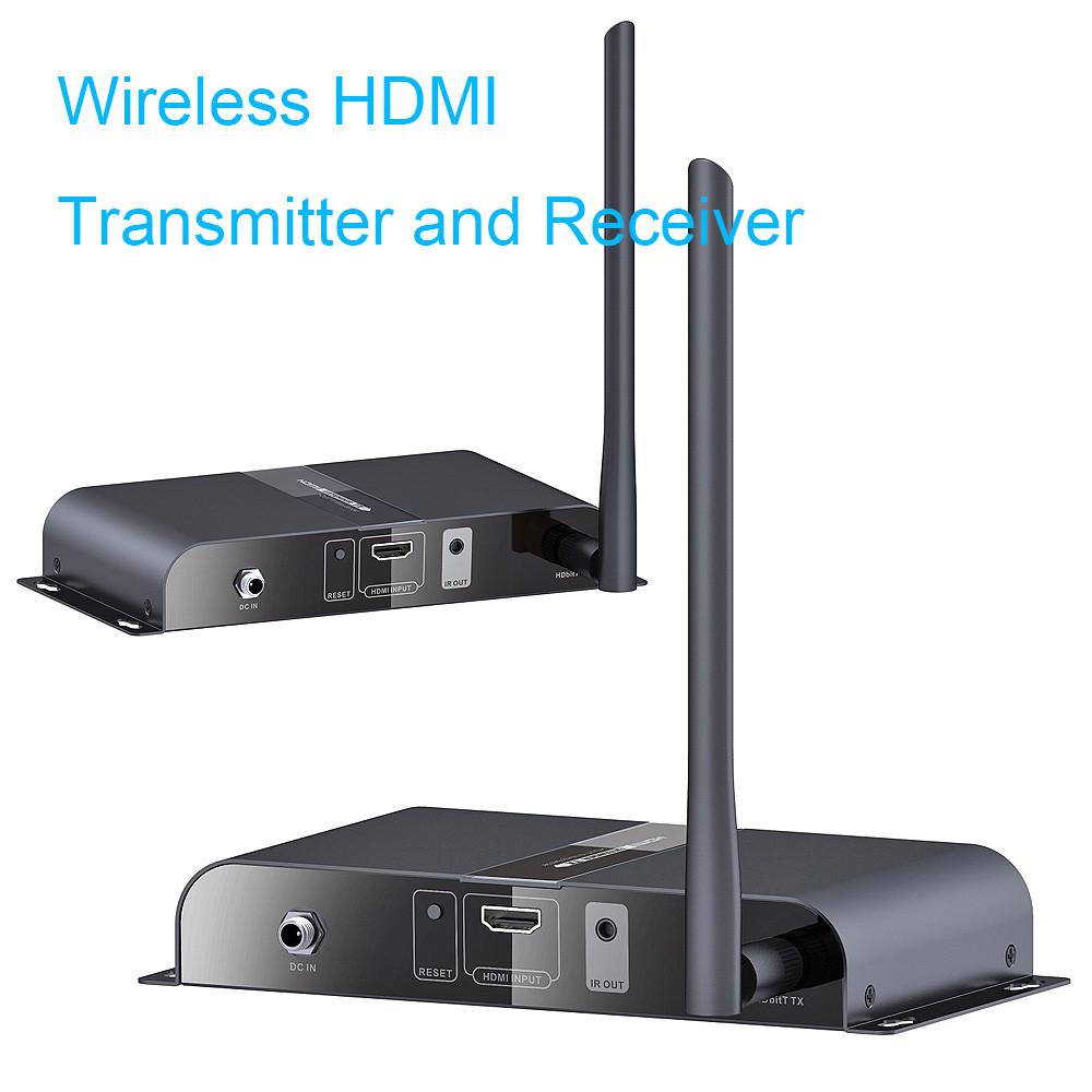 Wireless Transmitters And Receivers: Wireless AV HDMI HDbitT Transmitter Receiver Kit / 656Ft