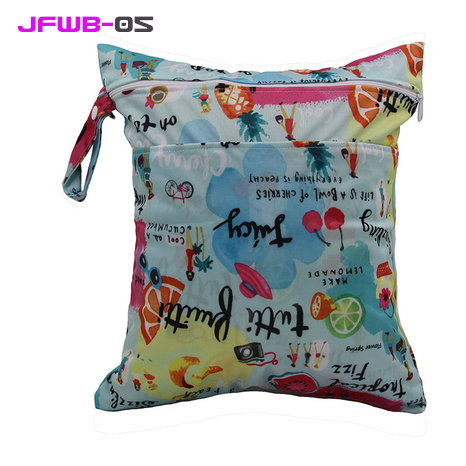 Mini-Size-Wet-Bags-Snap-Handle-Cloth-Bag-Baby-Diaper-Nappy-Changing-Bag