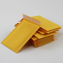 (140*160mm) 10pcs/lots Bubble Mailers Padded Envelopes Packaging Shipping Bags Kraft Bubble Mailing Envelope Bags(China (Mainland))