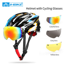 Buy INBIKE Cycling Helmet Bicycle Helmet Cycling Glasses Ultralight Integrally-molded Road MTB Helmet Casco Ciclismo IH16710 for $22.19 in AliExpress store