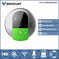 vstarcam Doorcam C95 IP door camera eye HD 720P Wireless Doorbell WiFi Via Android Phone Control