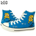 Anime Despicable Me Minion Men s Women s Graffiti Canvas Shoes Cartoon Animation Minions Designer Shoes