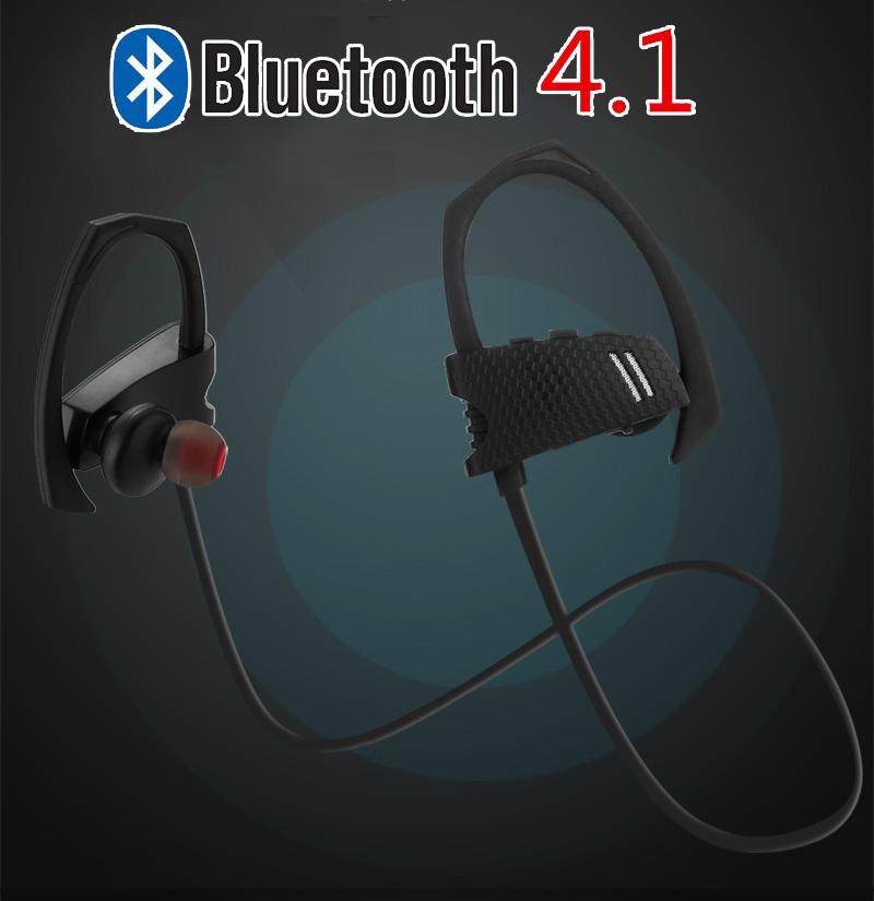 Free Shipping Q9 With Volume Control Sport Wireless Bluetooth 4.1 Earphone for iPhone 7 Galaxy S7 Edge Samrt Phone Retail box(China (Mainland))