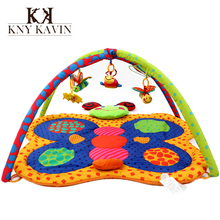 New Design Baby Toy Kids Play Mat Tapete Infantil Colorful Butterfly Crawling Game Mat Play Activity Gym 0-1 Year Kids Rug HK881(China (Mainland))