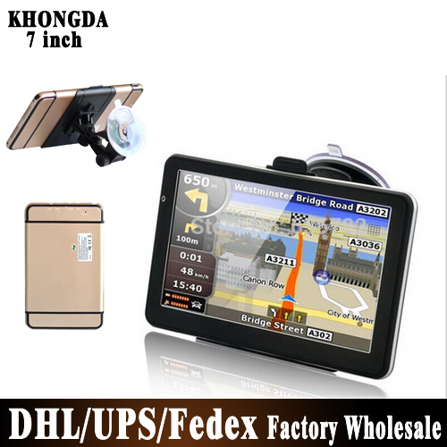 Wholesale! 50pcs/lot 7 inch Car GPS Navigation, DDR 128 MB, 2015 Navitel 9.1 Maps FM, 800 MHz, WinCE 6.0 Free Shipping(China (Mainland))