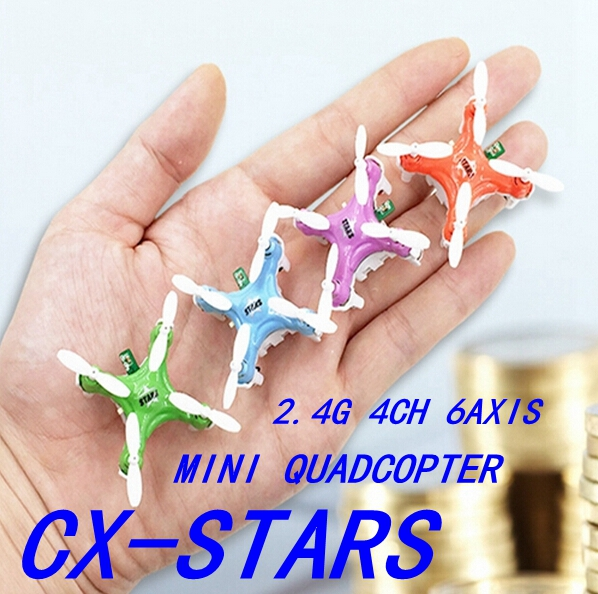 The World Smallest ! Original Cheerson CX-Stars Remote Radio Control RC Mini Drone Helicopter Quadcopter Toys Ar.drone Best Gift(China (Mainland))