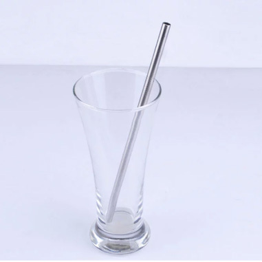 Free shipping L215mm*D8mm 10 pcs Stainless steel straight straw + 2 pcs straw cleaner brush drinking straw coffee stirrer stick(China (Mainland))