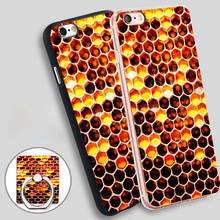 Buy Bee Bed Phone Ring Holder Soft TPU Silicon Case Cover iPhone 4 4S 5C 5 SE 5S 6 6S 7 Plus for $2.24 in AliExpress store