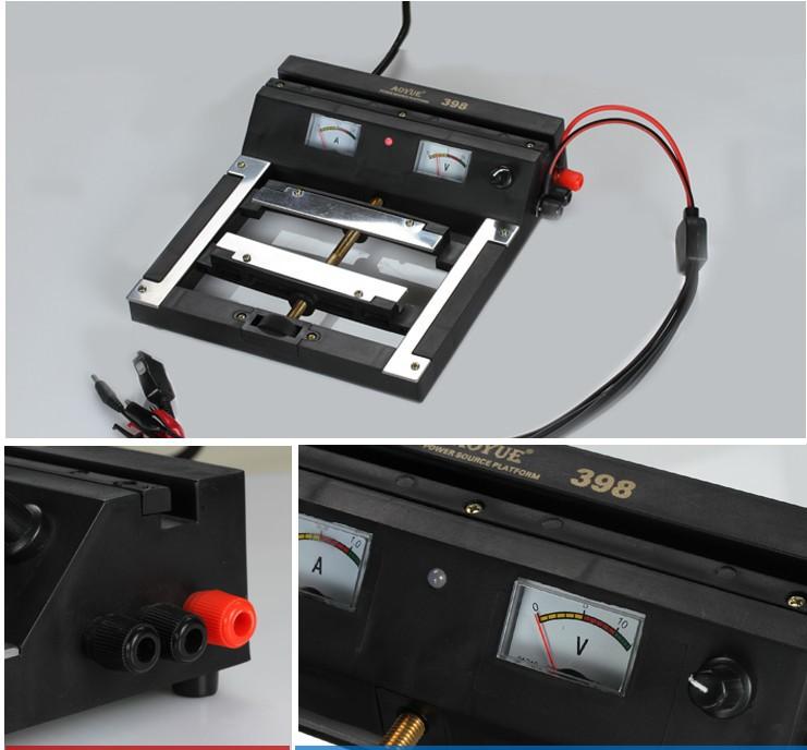 Aoyue 328 BGA Hot air gun Working Platform with PCB Power Source Platform working table PCB clam 210-230V DC 0-15V(China (Mainland))