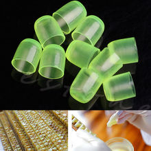 Hot 10Pcs Beekeeping Cell Cups Royal Jelly Cups Set Queen Bee Rearing Equipment(China (Mainland))