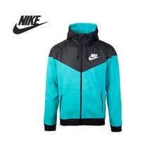 Original Nike AS NIKE WINDRUNNER-FLEECE MX men's jacket 614517-388 Hoodie sportswear free shipping