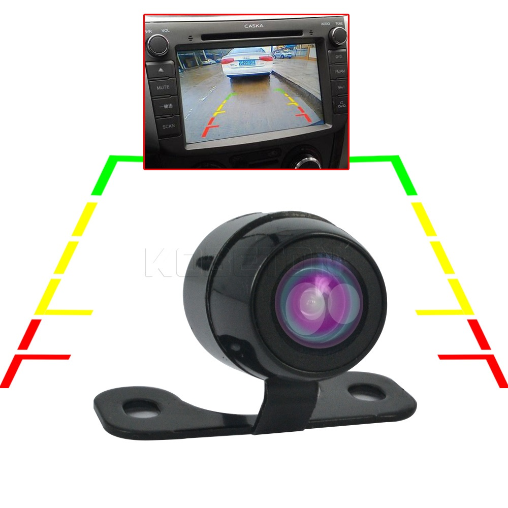 Universal HD CCD Car Rear View Rearview Camera Automobile 70 Wide Angle Vehicles Back Version Backup Reverse Parking Assistance()