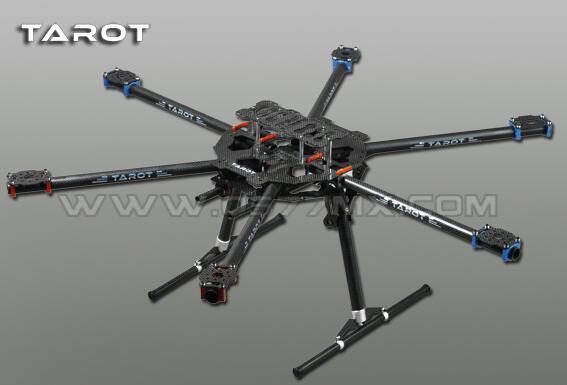 Quadcopter Рамка Таро 3 K Все углерода металла складной Тип Hexacopter Основной комплект 63