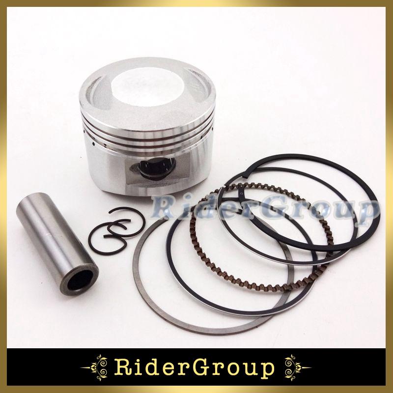 Motorcycle Piston Pin Ring Set 54mm 14mm For Chinese Lifan 138cc Engine 4 Wheeler Pit Dirt Trail Motor Bike ATV Quad Motocross(China (Mainland))