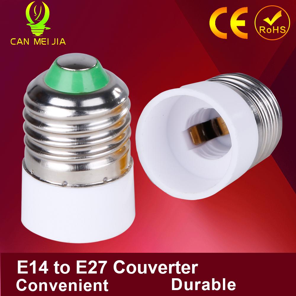 1pcs Led Lamp Holder Bulb Socket E14 To E27 Adapter E14 E27 Converter Adapter E14 To E27 Light(China (Mainland))