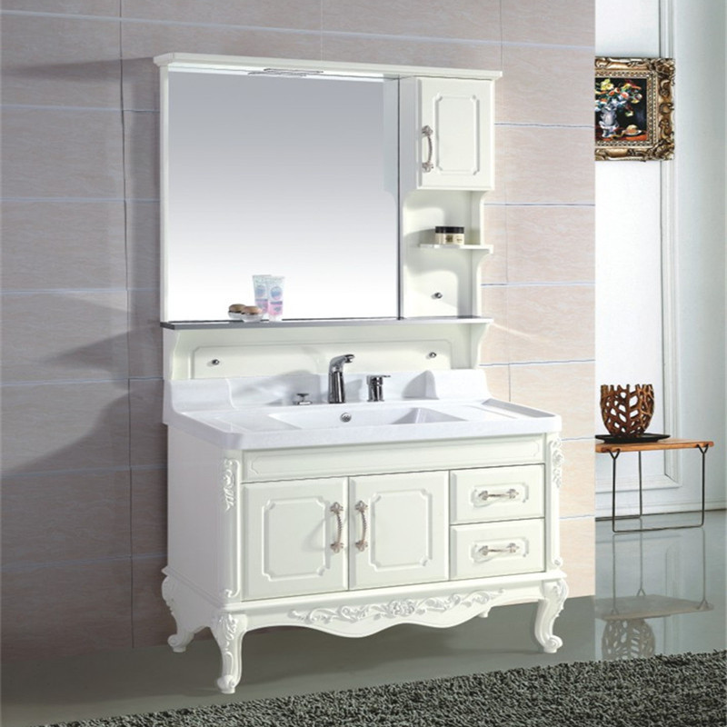 Supply full bath cabinet LED lights clouds basin cabinet(China (Mainland))