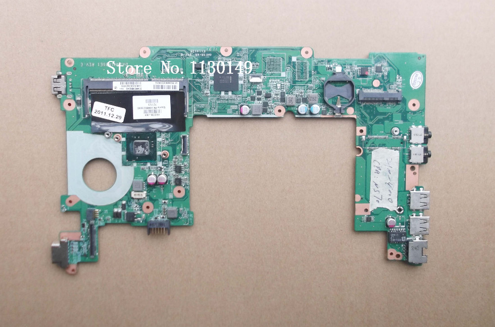 Free Shipping 650739-001 laptop motherboard for HP mini 110 DA0NM1MB6D0 31NM1MB0040 intel N570 DDR3 Mother Board Full Tested(China (Mainland))