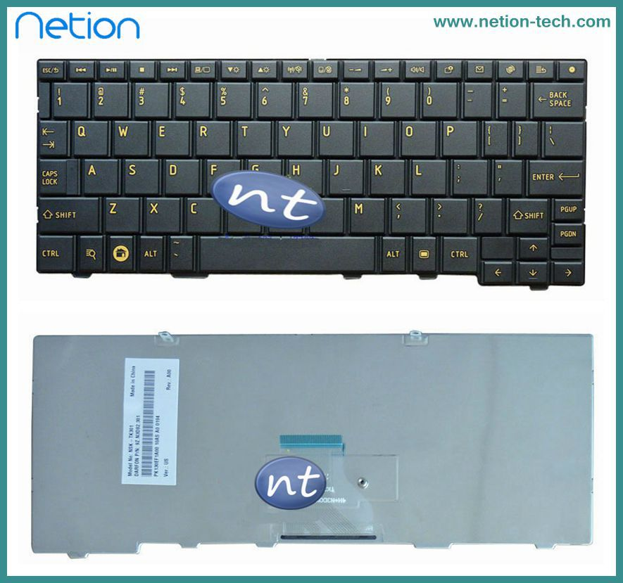 New Original US Keyboard For Toshiba Minin AC100 AC100-10D AC100-10U AC100-10Z Black Teclado(China (Mainland))