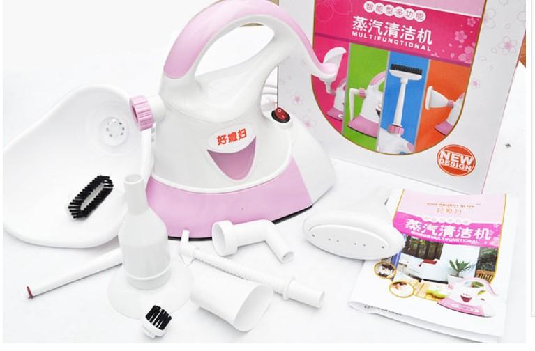 Гаджет  220v 500W FULL SET steam cleaner cleaning steam mop handheld steam cleaner steamer stoomreiniger machine cleaners None Бытовая техника