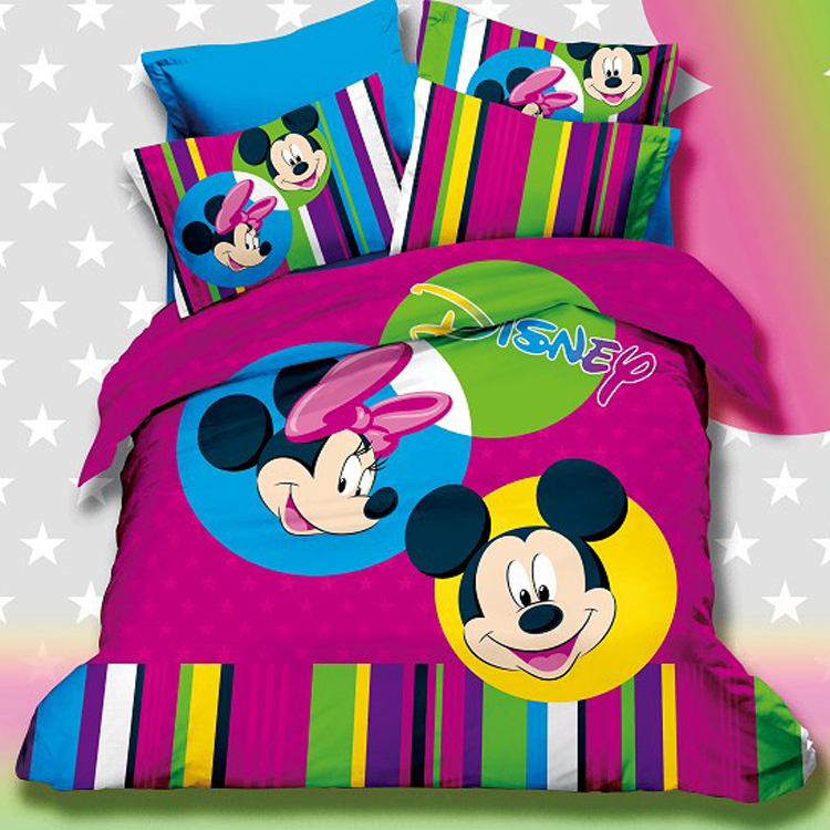 Mickey Mouse Bedding Set Queen Size Comforter Set Duvet