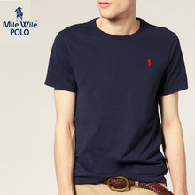 new Small horse men-shirt O-neck short sleeve polo shirt Tops Tees brand Ralph men polo shirts casual style 100% cotton t-shirt
