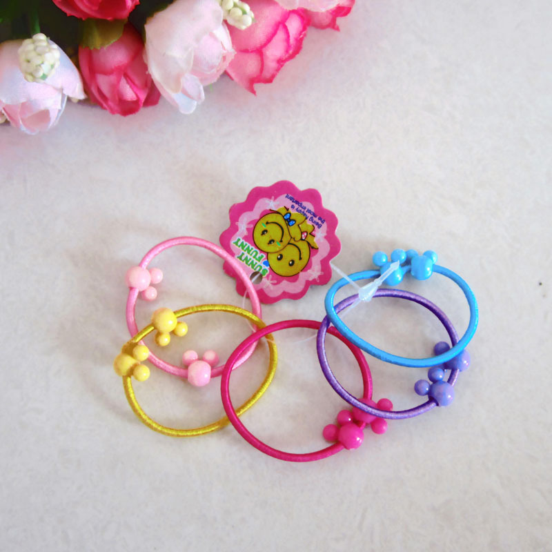 children hair rope cheapest elastic crown stars shapes bands Holder headwear1406HB008 - Monica Moon's store