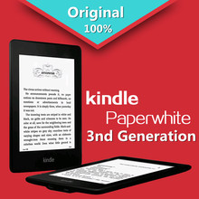 "NEW Kindle Paperwhite 3nd Generation 4GB eBook e-ink Screen WIFI 6""LIGHT Wireless Reader With built-in backlight Free shipping(China (Mainland))"