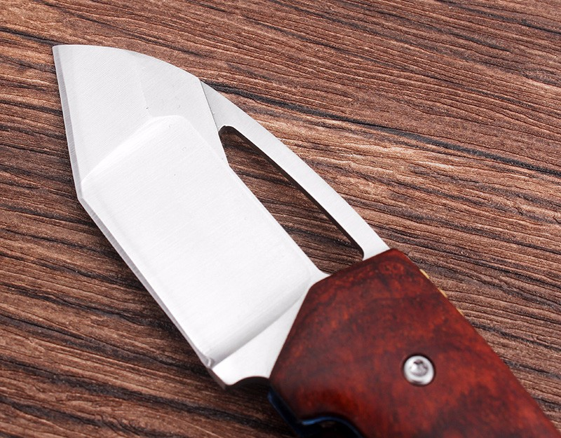 Buy D2 Steel Blade Sharp Tactical Folding pocket Knife  60HRC Camping hunting Survival Knives Defensive tactical knife EDC tool cheap