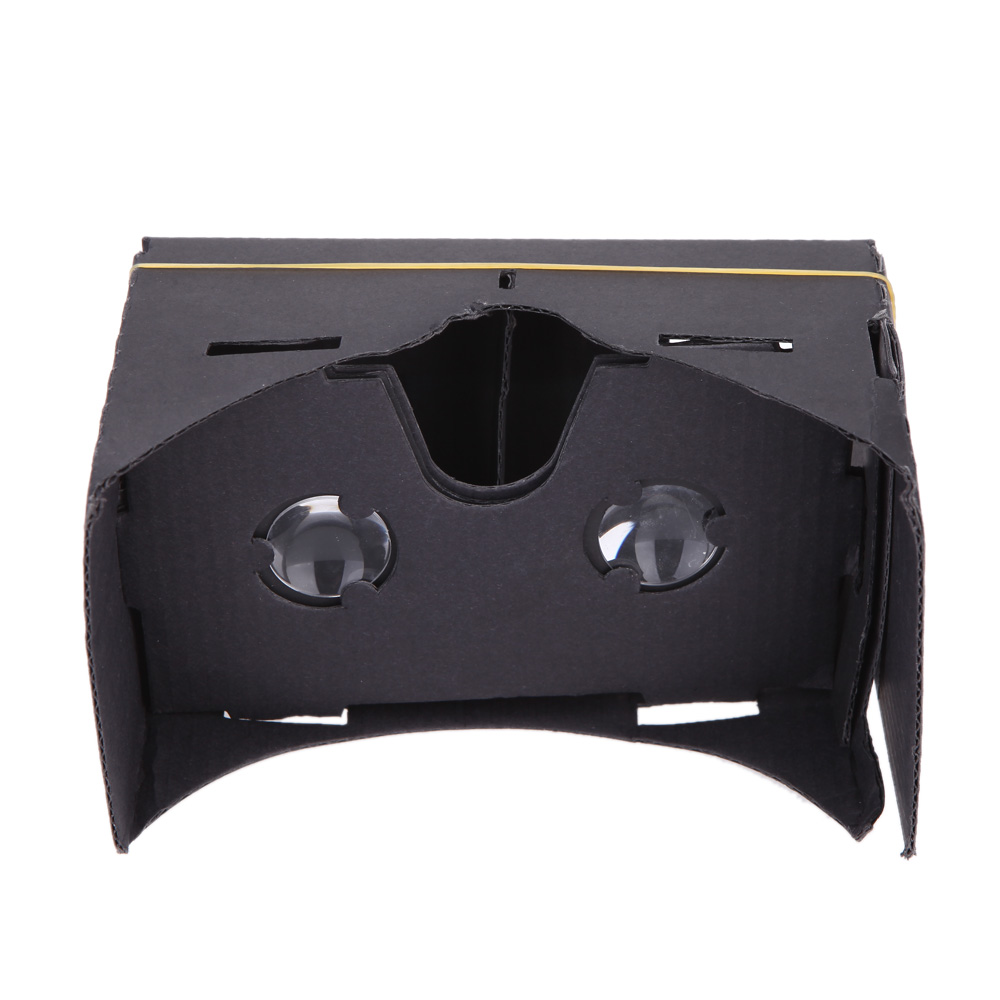 "Portable DIY Google Cardboard VR Box Virtual Reality 3D Video Glasses Head Mount Hands-free for 3.5"" ~ 6"" Smart Phones(China (Mainland))"