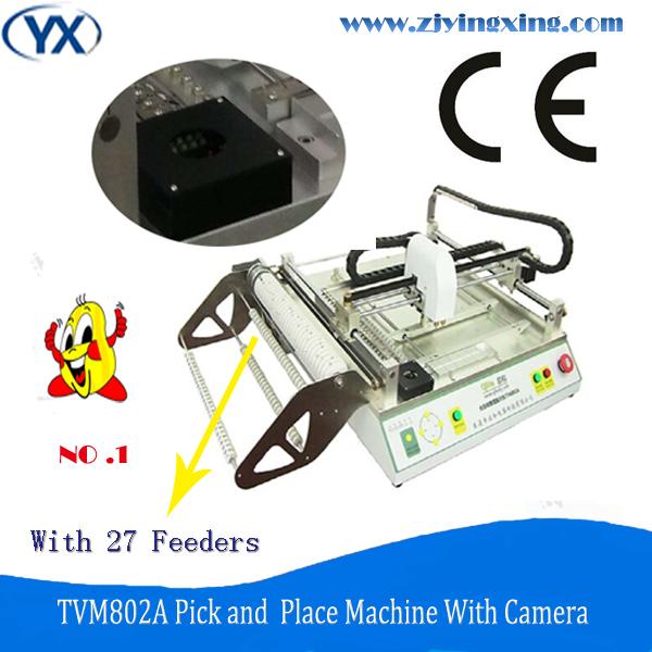 Hot Sale Modern Techniques Precise SMT Solder Paste Mixer Chip Mounter Machine/SMT Desktop Pick and Place Machine TVM802A(China (Mainland))