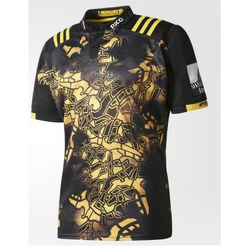 Hurricanes format rugby Shirts,2017 men's adult Rugby clothing, Hurricanes Rugby Jersey ,Sport Rugby Jersey S-3XL Free shipping(China (Mainland))