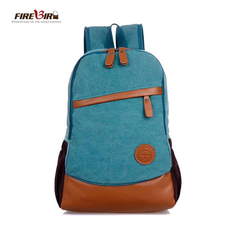 FIREBIRD! 2015 New Hot Fashion Solid Backpack Korean version Unisex Canvas Backpack  HL1003<br><br>Aliexpress