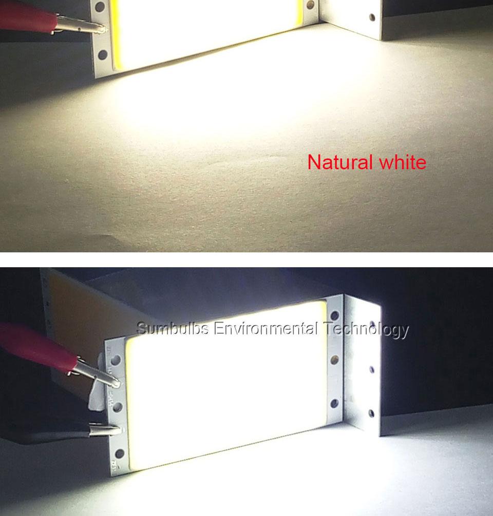 15W LED COB Strip Light Lamp Bulb dc12V warm cold white blue LED  (12)