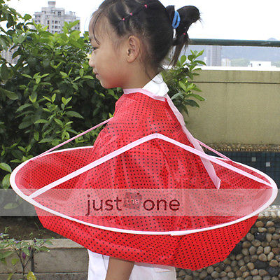 TOP Children Kid Foldable Haircutting  Hair Cutter Hairdresser Bib Cape Barber's Cloth hair styling capes(China (Mainland))