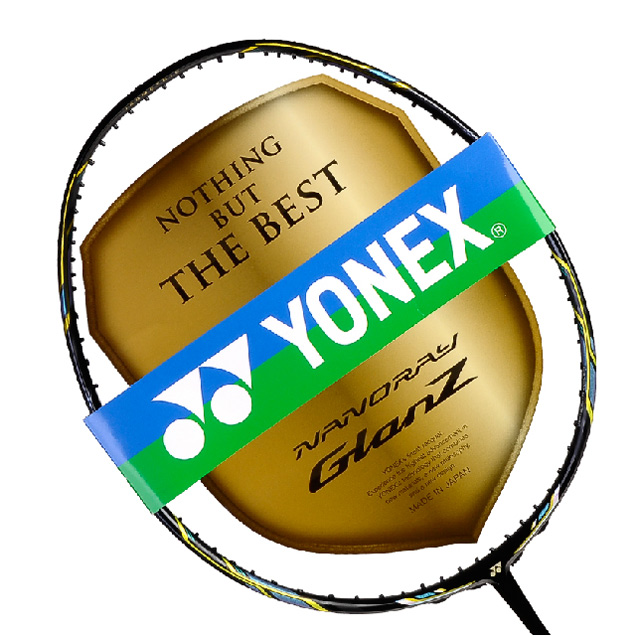 2015 New Badminton racket NRgz glan Z Graphite Fiber Badminton Racquet special design for backhand with cover, grip and string(China (Mainland))
