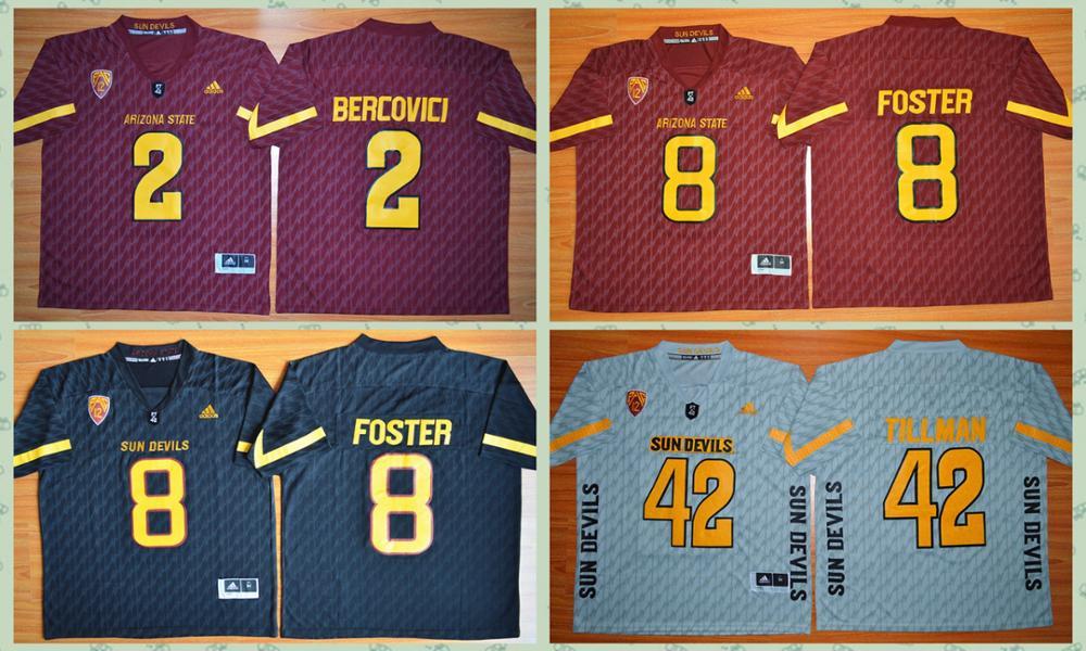 2016free shipping,Arizona State Sun Devils,Mike Bercovici,Pat Tillman,(China (Mainland))