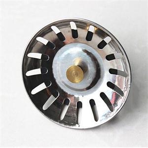 Гаджет  New Kitchen Stainless Steel Sink Strainer Waste Disposer Plug Drain Stopper Filter None Строительство и Недвижимость
