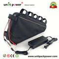 Powerful 48V 750W 1000W Electric Bicycle Battery 48V 20AH Triangle Lithium Battery with 30A BMS and