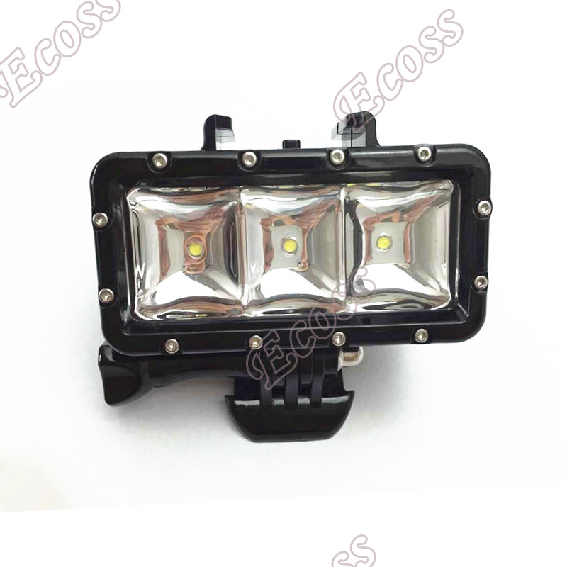 For Gopro flash light Underwater 30m diving Led Flash Fill Light Night Light For Gopro Hero