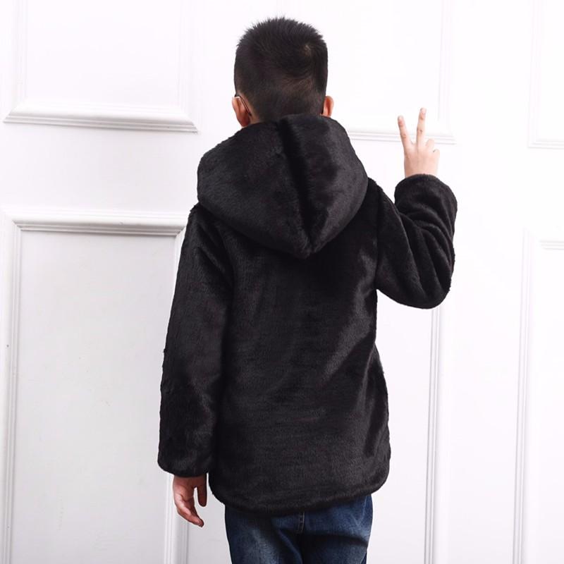 Скидки на 2016 Дети искусственного меха пальто мальчик и девочка искусственного меха с капюшоном пальто модели детские толстые теплые плюшевые пальто 1008