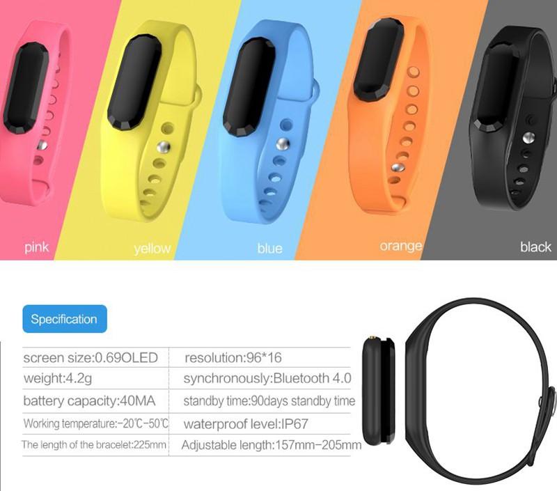 Smartband Heart rate Bracelet 19